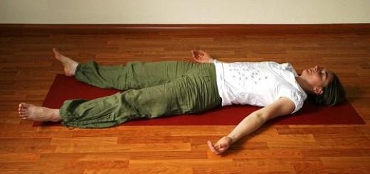 Shavasana: Posizione per il rilassamento