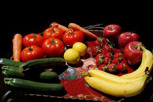 Frutta e Verdura: Alimenti ricchi in Antiossidanti