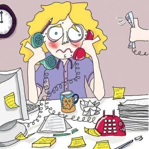 stress lavoro ufficio
