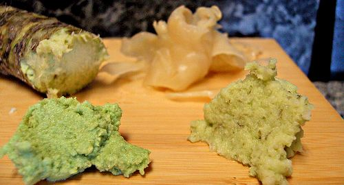 Radice e pasta di Wasabi