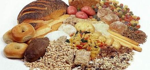 Alimenti ricchi di Carboidrati - Pane, Pasta, Riso