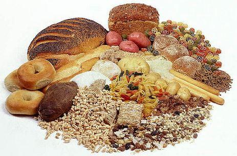 Alimenti ricchi di Carboidrati - Pane, Pasta, Riso, Patate, Cereali