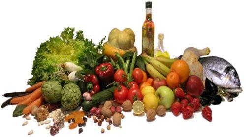 Alimenti tipici della Dieta Mediterranea
