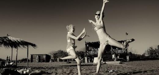 felicità spiaggia